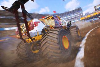 Na PC a konzole vyšel Monster Truck Championship