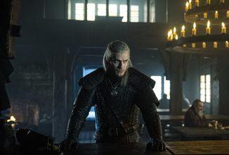 Obrazem: Geralt, Ciri,  Yennefer, karty a boj ze seriálového Zaklínače