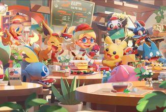 Pokémoni zaplaví platformy. Chystají se hry Pokémon Snap, Smile a Cafe Mix