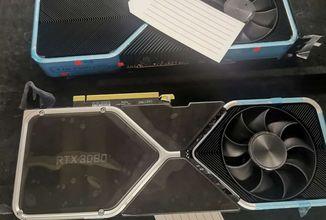Unikly fotky nové generace grafických karet Nvidie. Podívejte se na GeForce RTX 3080