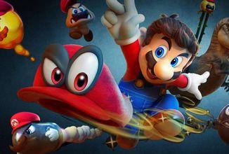 Na dobrodružství ve hře Super Mario Odyssey jen tak nezapomenete
