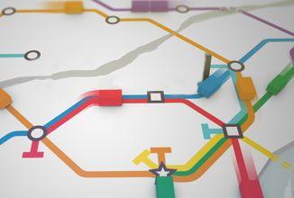 Mini Metro - Stavba linky D může začít!