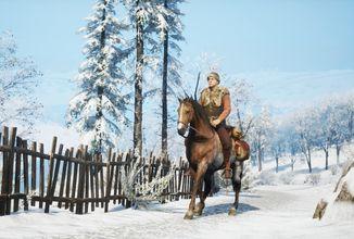V Medieval Dynasty se můžete projet na koni