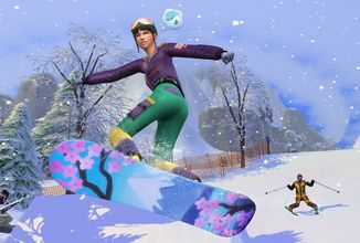 Horské radovánky v The Sims 4