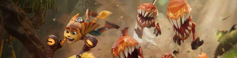 Ratchet & Clank: Rift Apart na PS4 nevyjde a tajemný seriál se známou dvojicí