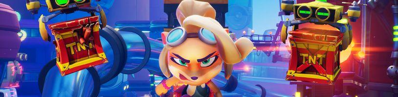 Crash Bandicoot 4 má nabídnout více než 100 úrovní