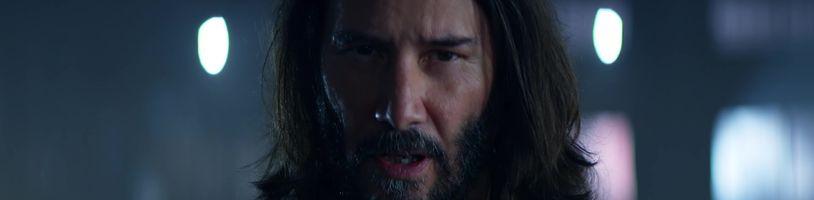 Keanu Reeves v reklamě láká na Cyberpunk 2077