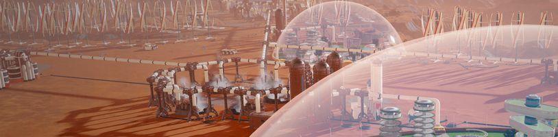 Surviving Mars - rozmyslíte si, jestli budete chtít cestovat ze Země