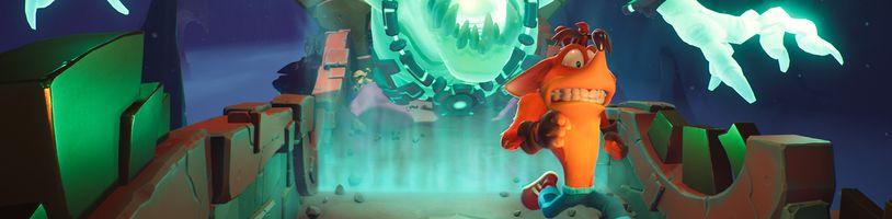 Nové gameplay záběry představují pirátskou úroveň z Crash Bandicoot 4