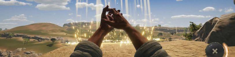 Simulátor Ježíše Krista ukazuje tutoriál, mapu a boj s démonem
