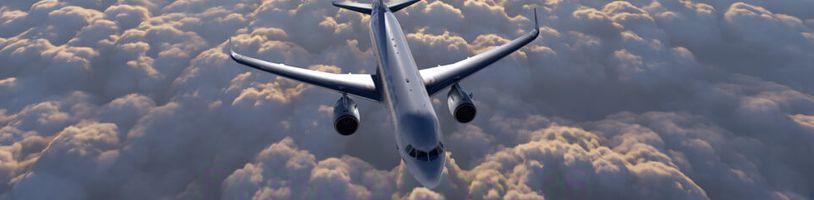 Microsoft Flight Simulator se chlubí realistickým zpracováním mraků a krajiny