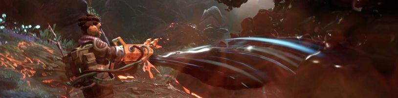 Krásné mimozemské prostředí v The Gunk od autorů SteamWorldu