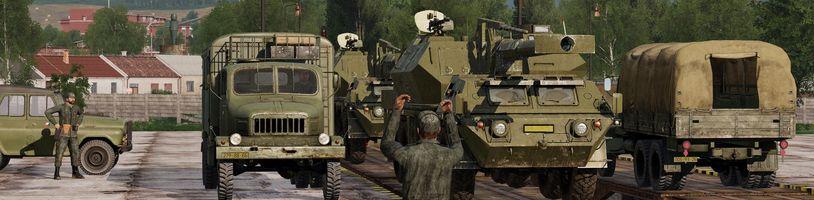 Československá lidová armáda a další obsah míří do Arma 3