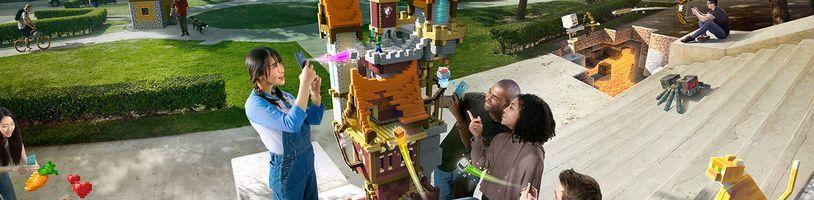 Právě probíhá registrace do bety Minecraft Earth