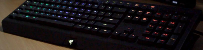 Pořádný test mechanické klávesnice RAZER BLACKWIDOW