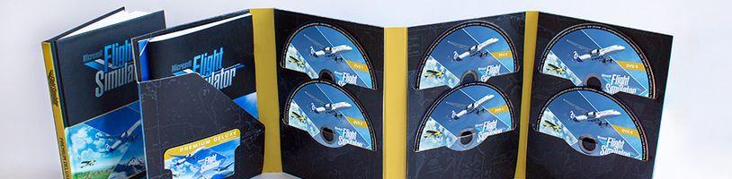 Fyzická kopie Microsoft Flight Simulatoru vyjde na deseti DVD