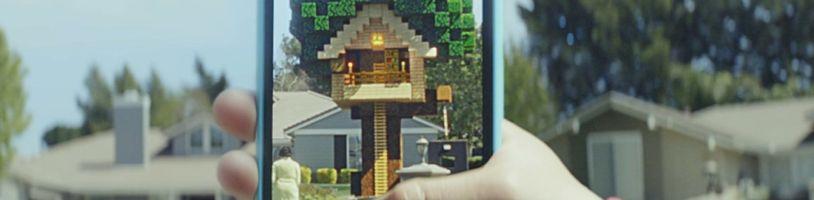 Minecraft Earth si můžeme vyzkoušet už i na Androidu