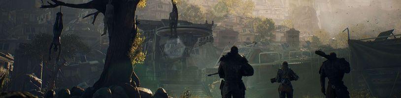 Střílečka Outriders v nových gameplay záběrech představuje mutanty a město First City