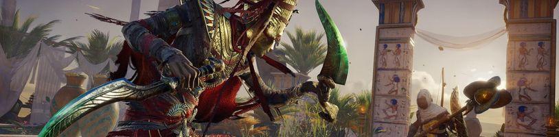 Vychází třetí DLC pro nové Assassin's Creed pod názvem Curse of the Pharaohs