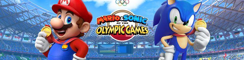 Olympijské hry nejsou na příchod Maria, Sonica a jejich přátel připravené