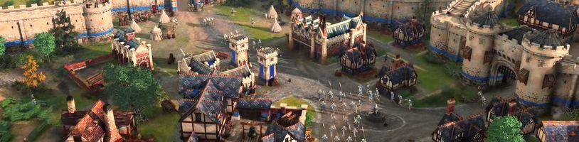 První záběry z hraní Age of Empires 4 a obohacení remasterů