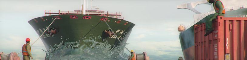 Návštěva největšího lodního hřbitova ve hře Ship Graveyard Simulator