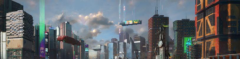 Prohlédněte si mapu Night City z Cyberpunku 2077