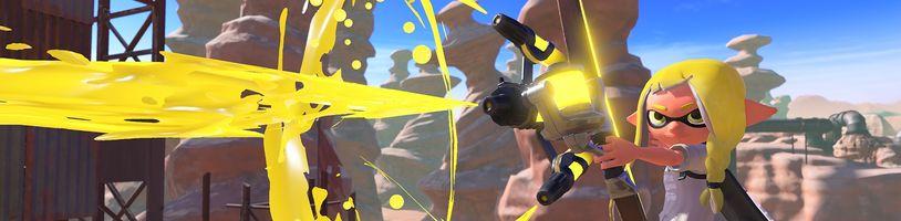 Splatoon 3 rozpoutá další barevné bitvy