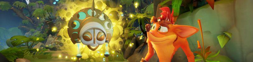 Skákačka Crash Bandicoot 4 vyjde koncem měsíce na PC