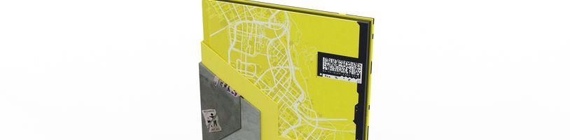 Lepší pohled na mapu Night City a ukázka Cyberpunku 2077 za dob PS1