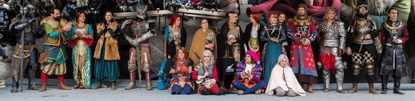 Zaklínačský Blavicon vydal kompletní záznam cosplay soutěže