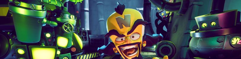 Crash Bandicoot 4 si na PC bez internetového připojení nezahrajete