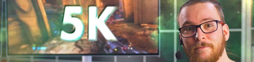 Proč tento 5K monitor NENÍ jen pro hráče? MSI Prestige PS341WU