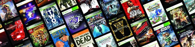 V listopadu se mají objevit další hry ve zpětné kompatibilitě Xboxu