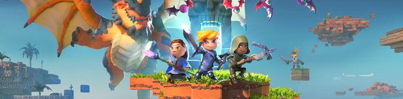 Dobrodružství na každé kostce. Portal Knights je vylepšený Minecraft spojený s prvky The Legend of Zelda