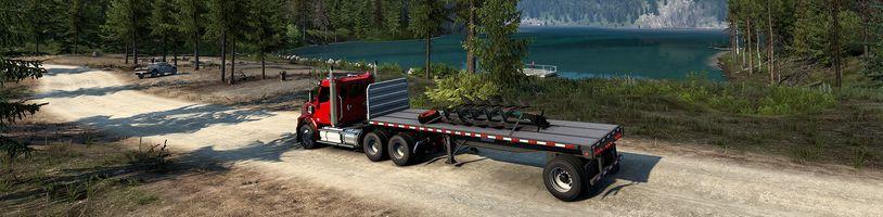American Truck Simulator ukazuje Wyoming