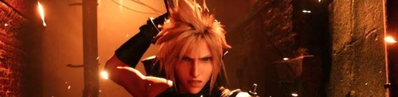 Final Fantasy VII Remake v novém traileru pozdravuje z Tokia