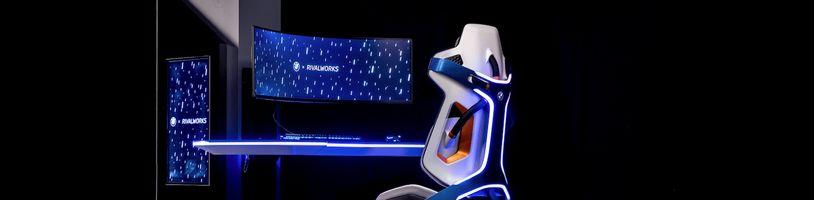 Designéři BMW představili ultimátní herní židli