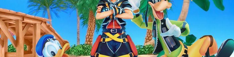 Konečně známe nové informace o animovaném Kingdom Hearts III