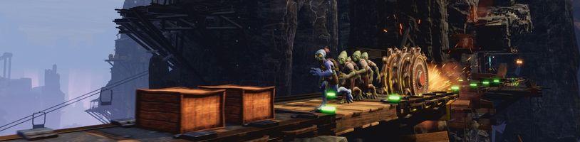 Gameplay záběry, HW nároky a upgrade na PS5 u Oddworld: Soulstorm