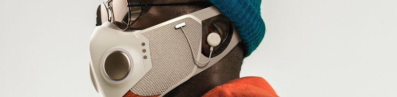 Chytrý respirátor se sluchátky s aktivním potlačením zvuku