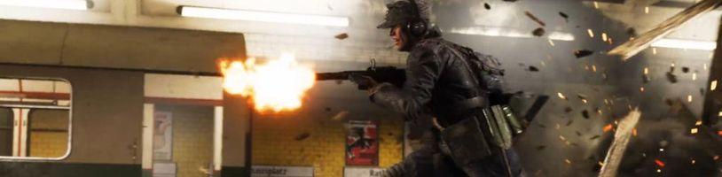Battlefield 5 nabídne nástupce mapy Operation Métro z Battlefieldu 3