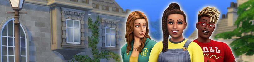 Hurá na vysokou! Tedy alespoň v The Sims 4