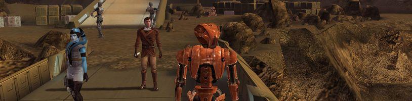 Originální Star Wars: Knights of the Old Republic vyjdou na Switch