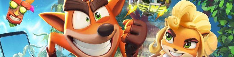 Crash Bandicoot: On the Run! míří na iOS a Android, kde hráči nebudou penalizováni a nemusí si kupovat životy