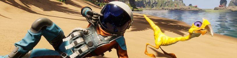 Nová oblast a více nepřátel v prvním DLC pro Journey to the Savage Planet