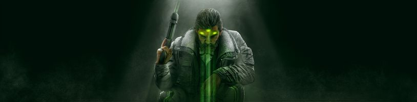 Splinter Cell se vrací. Sam Fisher bude hratelný v Rainbow Six Siege