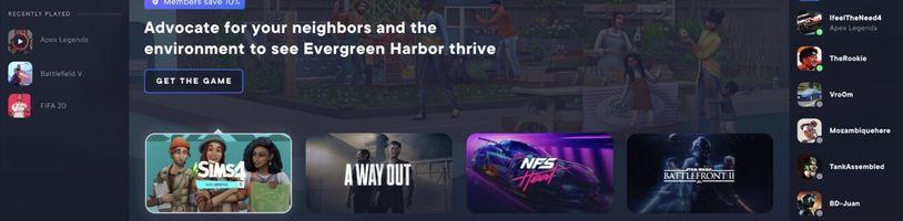 EA připravuje novou verzi klientu Origin