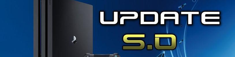 Play Station 4 se dočká při updatu nových systémových jazyků.