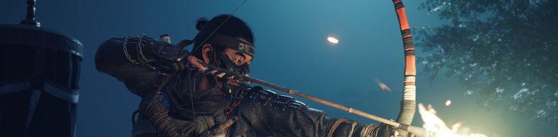 Ghost of Tsushima vyjde na PS4 s českými titulky